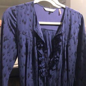 Rebecca Taylor Animal Print silk dress